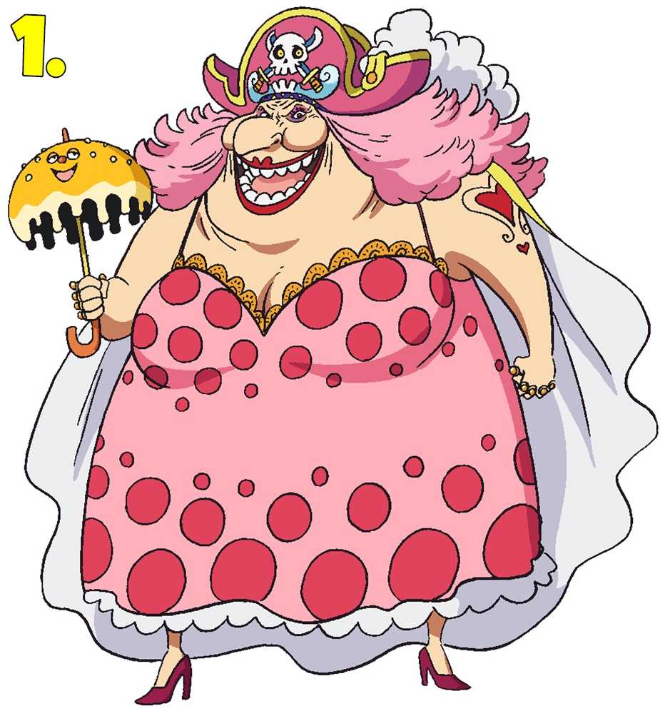 Charlotte Big Mom Linlin from One Piece