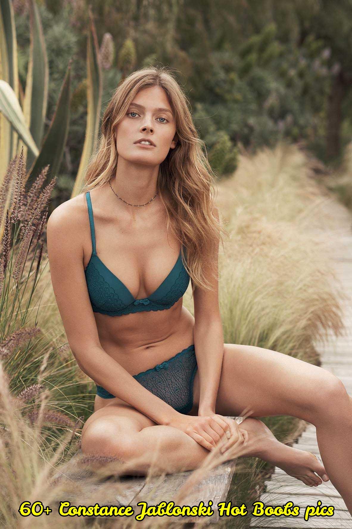 Constance Jablonski hot cleavage pic