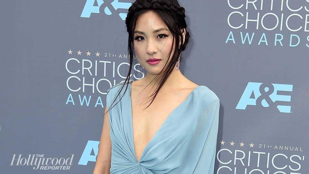 Constance Wu cleavage pic