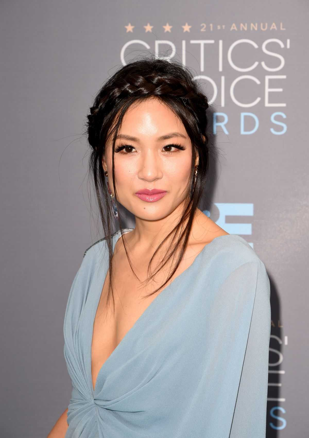 Constance Wu sexy cleavage