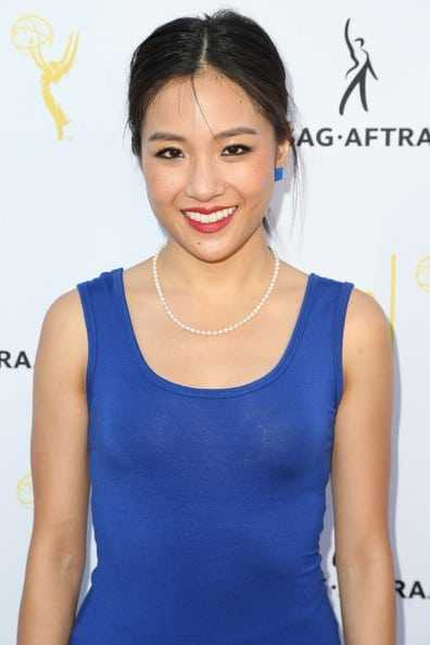 Constance Wu sexy smile
