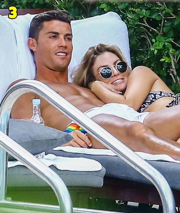 Cristiano Ronaldo And Cassandre Davis Dating