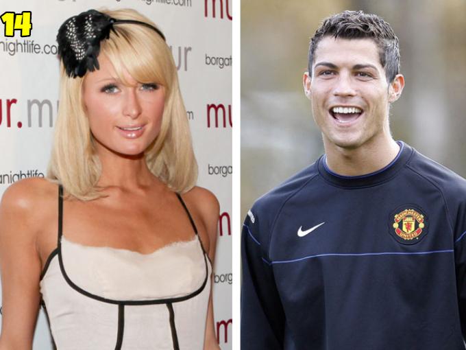 Cristiano Ronaldo And Paris Hilton Dating