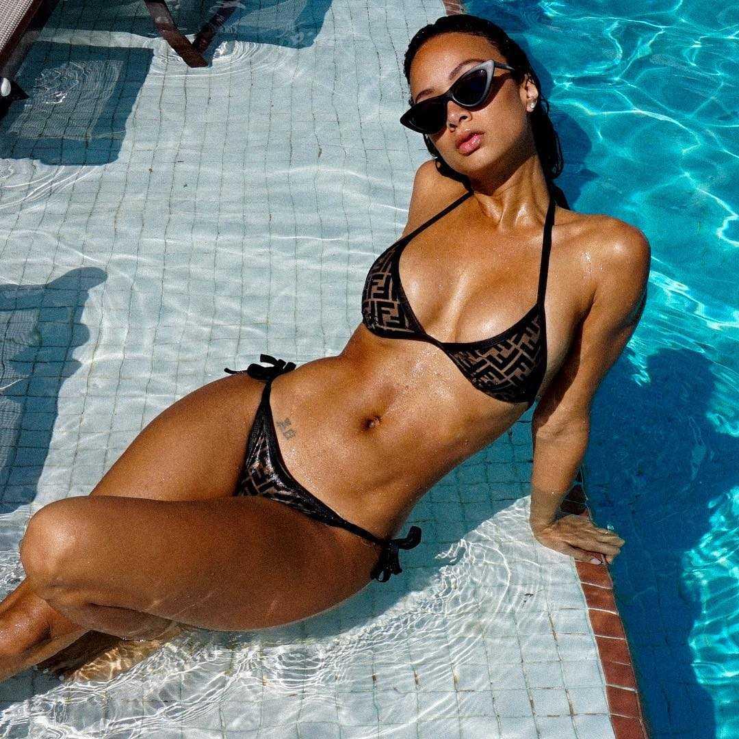 Draya Michele sexy tits pic