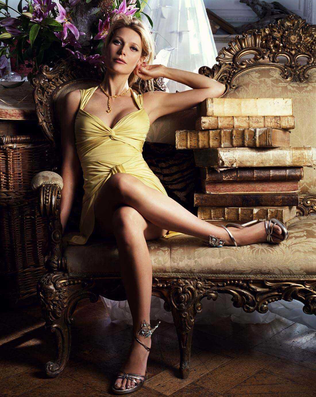 Gwyneth Paltrow feet pic