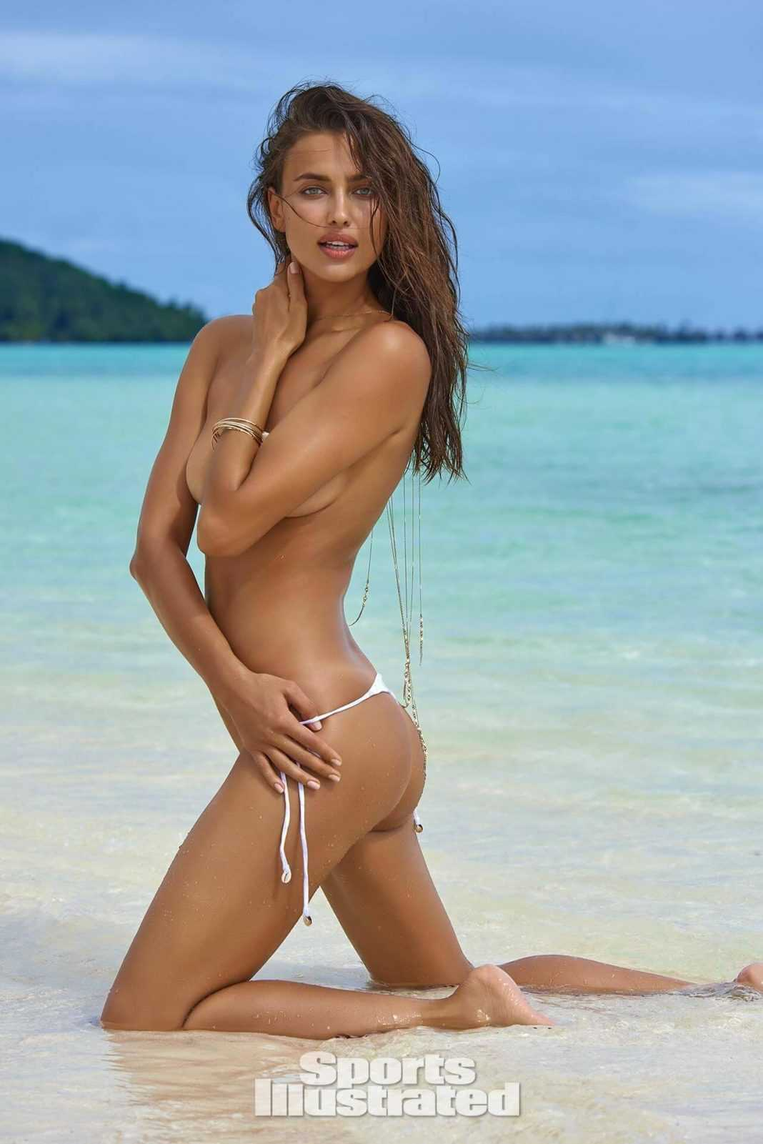 Irina Shayk busty look