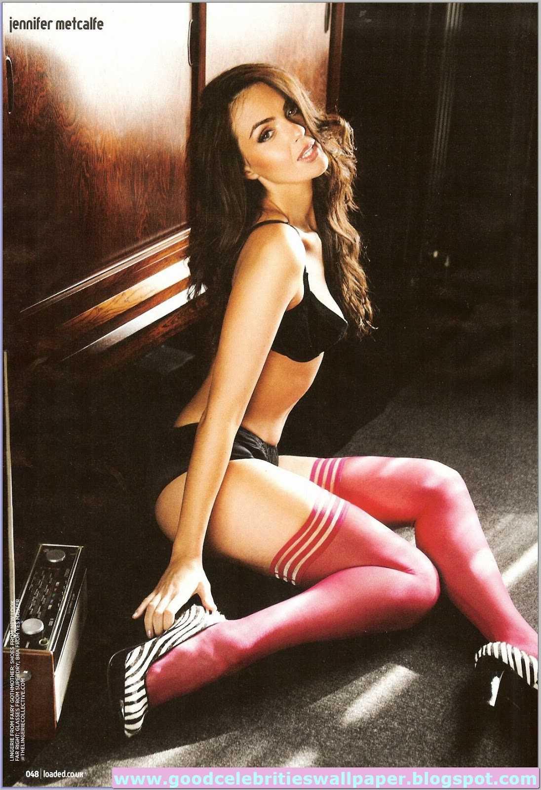 Jennifer Metcalfe hot feet pic