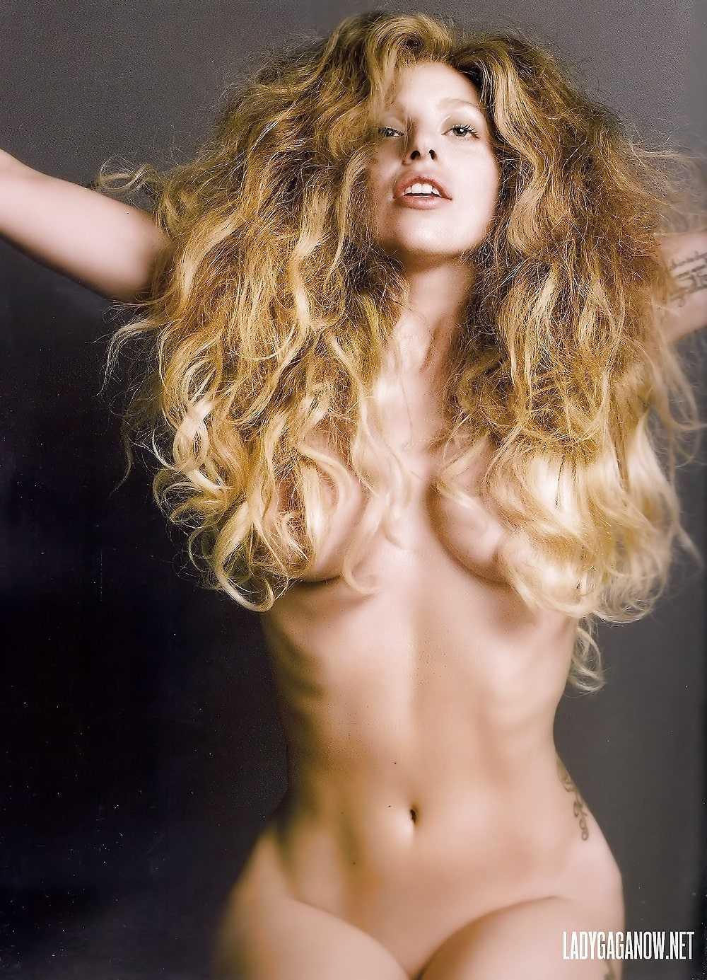 Lady Gaga big tits pic