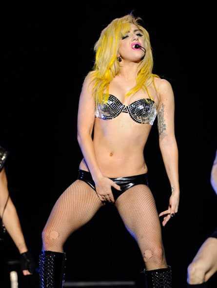 Lady Gaga sexy bikini pic