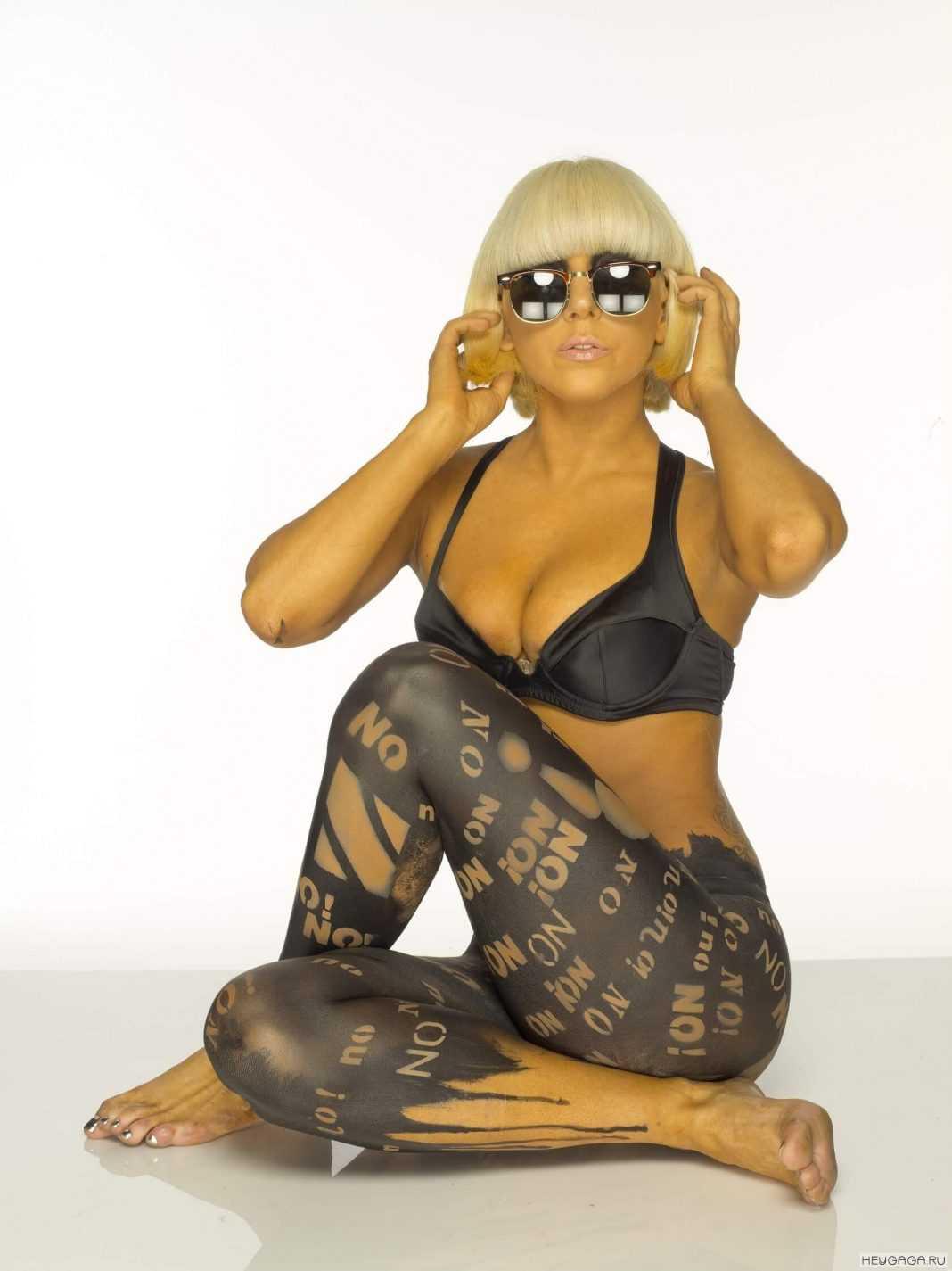 Lady Gaga sexy look
