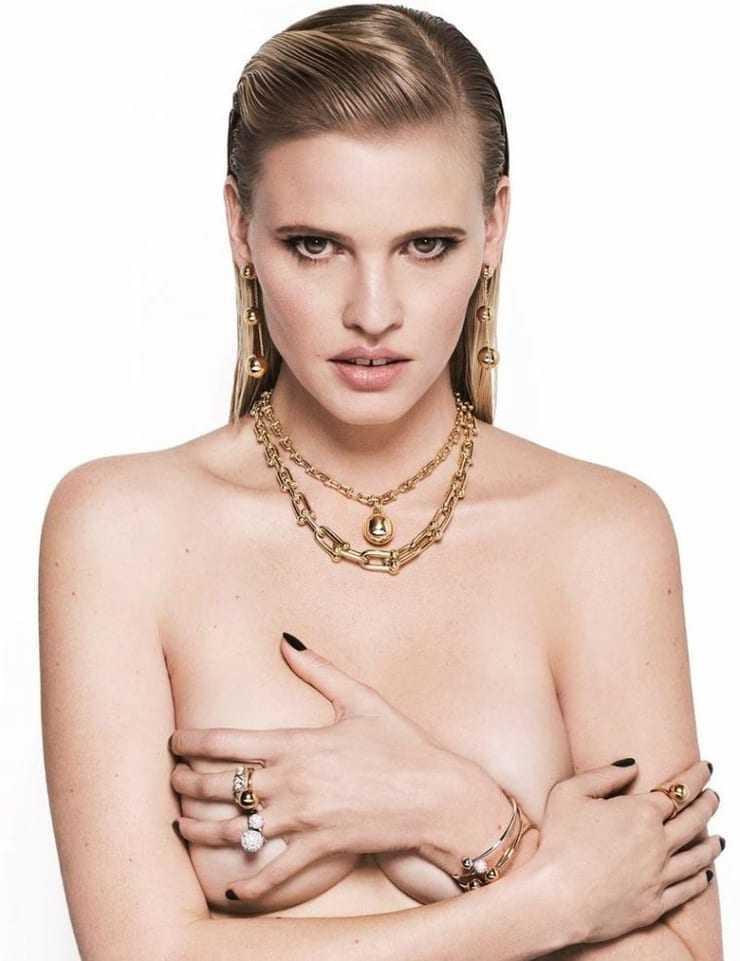 Lara Stone boobs pic