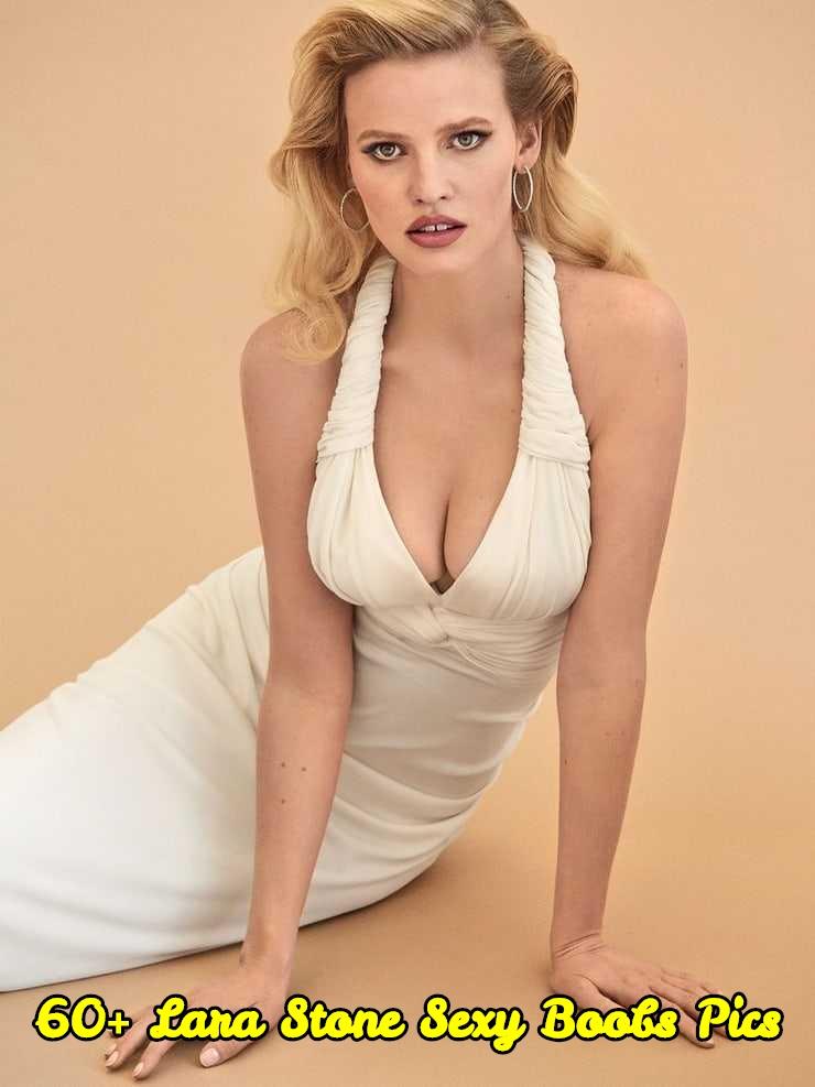 Lara Stone sexy boobs pic