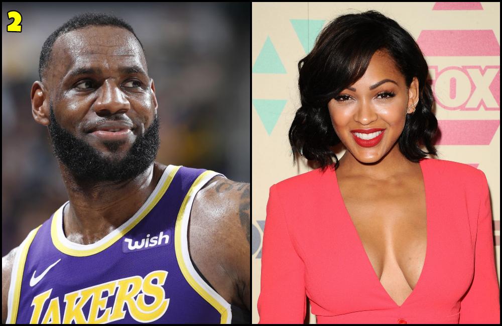 LeBron James And Meagan Good Dating