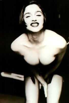 Madonna boobs pic