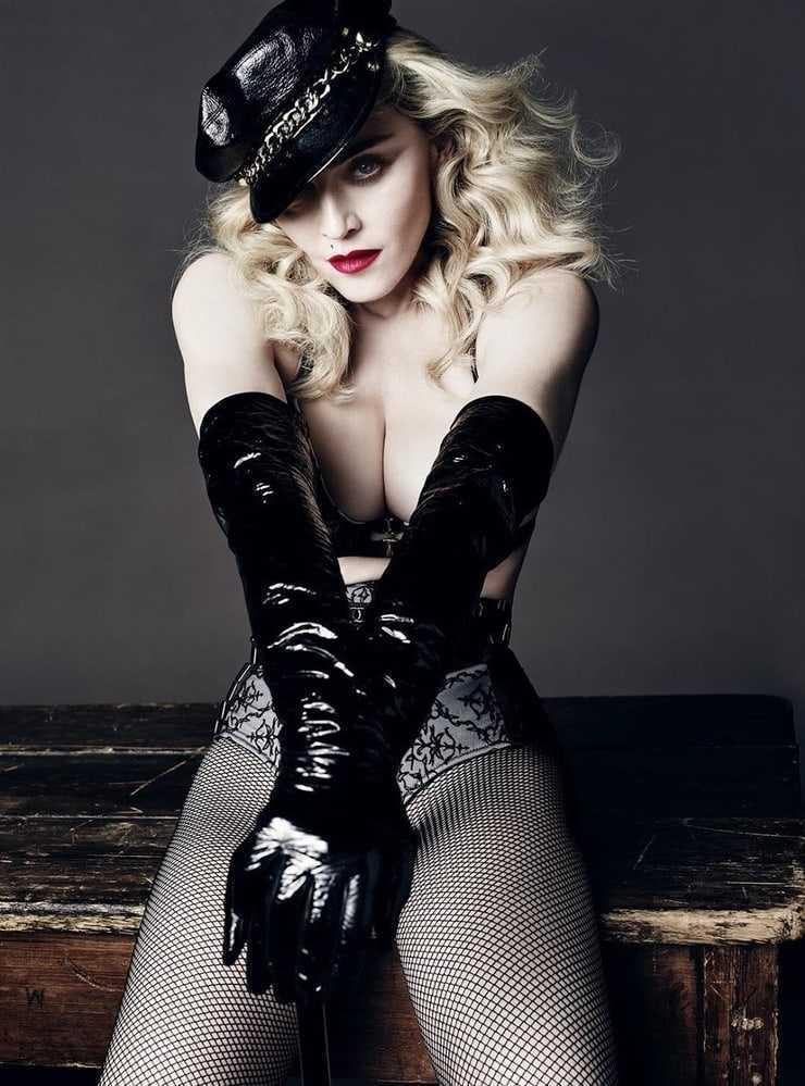 Madonna busty look