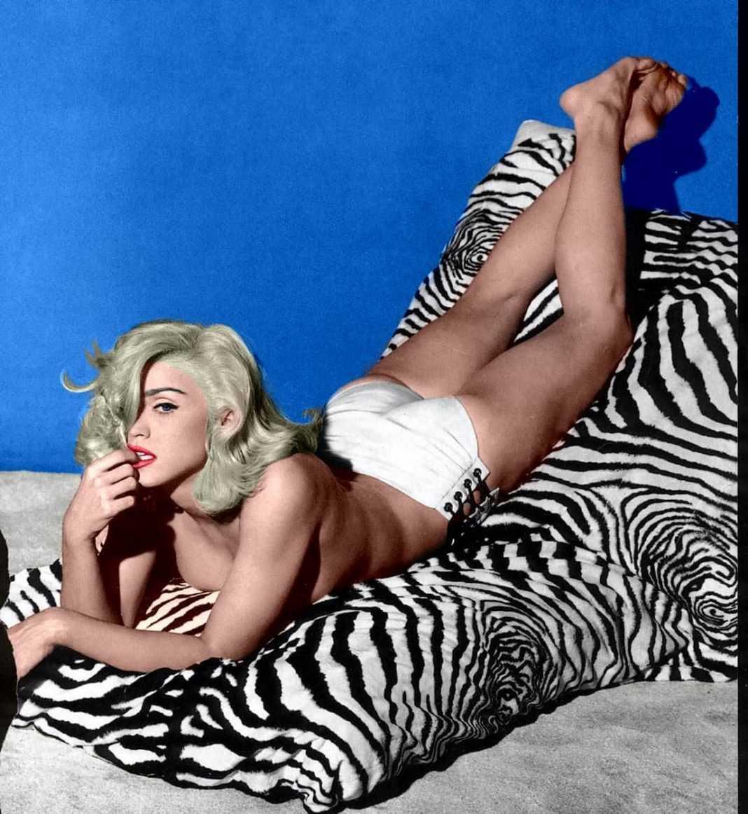 Madonna hot butt pic
