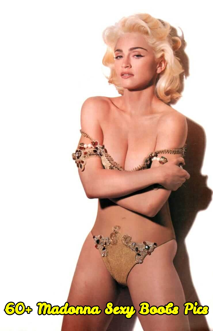 Madonna sexy boobs pics