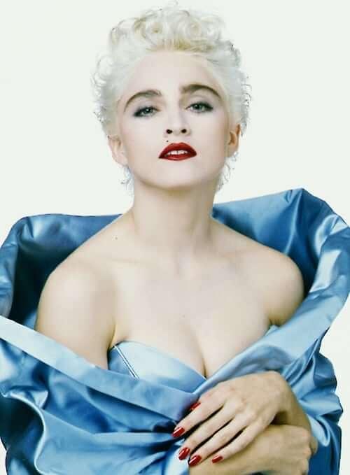 Madonna tits pic