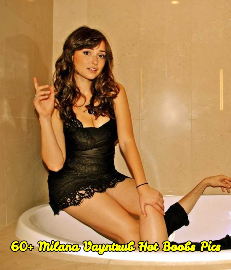 Hot commercial girls with big boobs 61 Sexiest Milana Vayntrub Boobs Pictures Will Make You Envy The Photographer Geeks On Coffee
