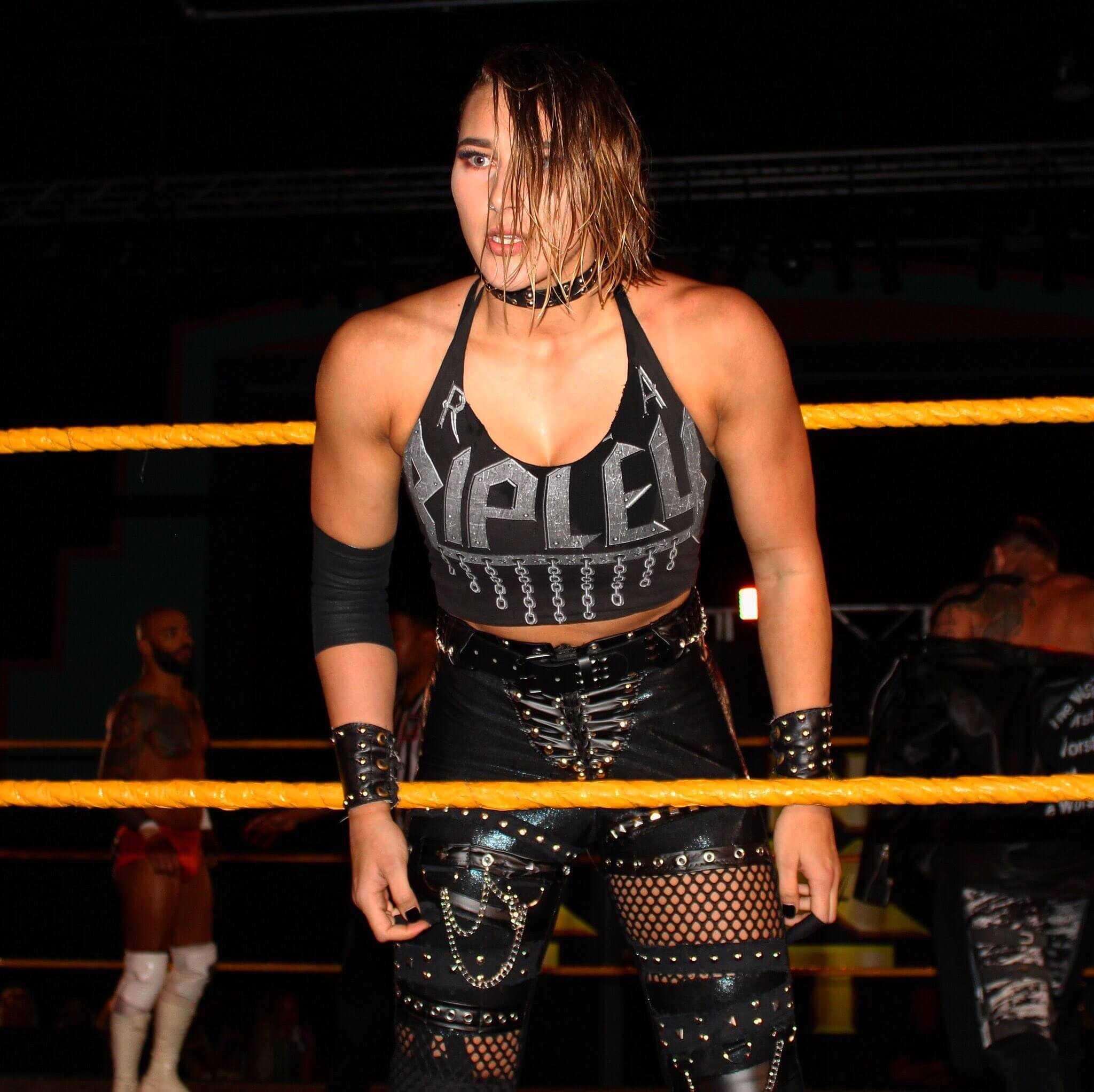 Rhea Ripley hot look photo