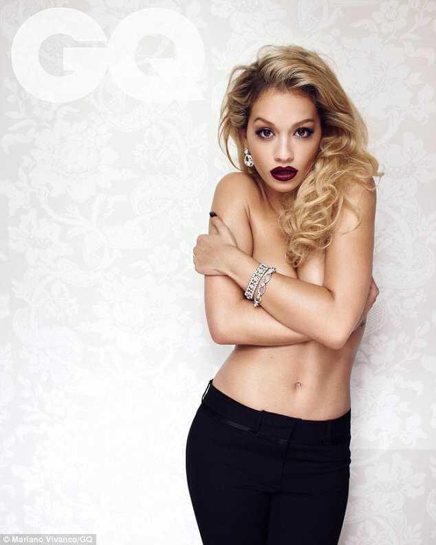 Rita Ora topless pic