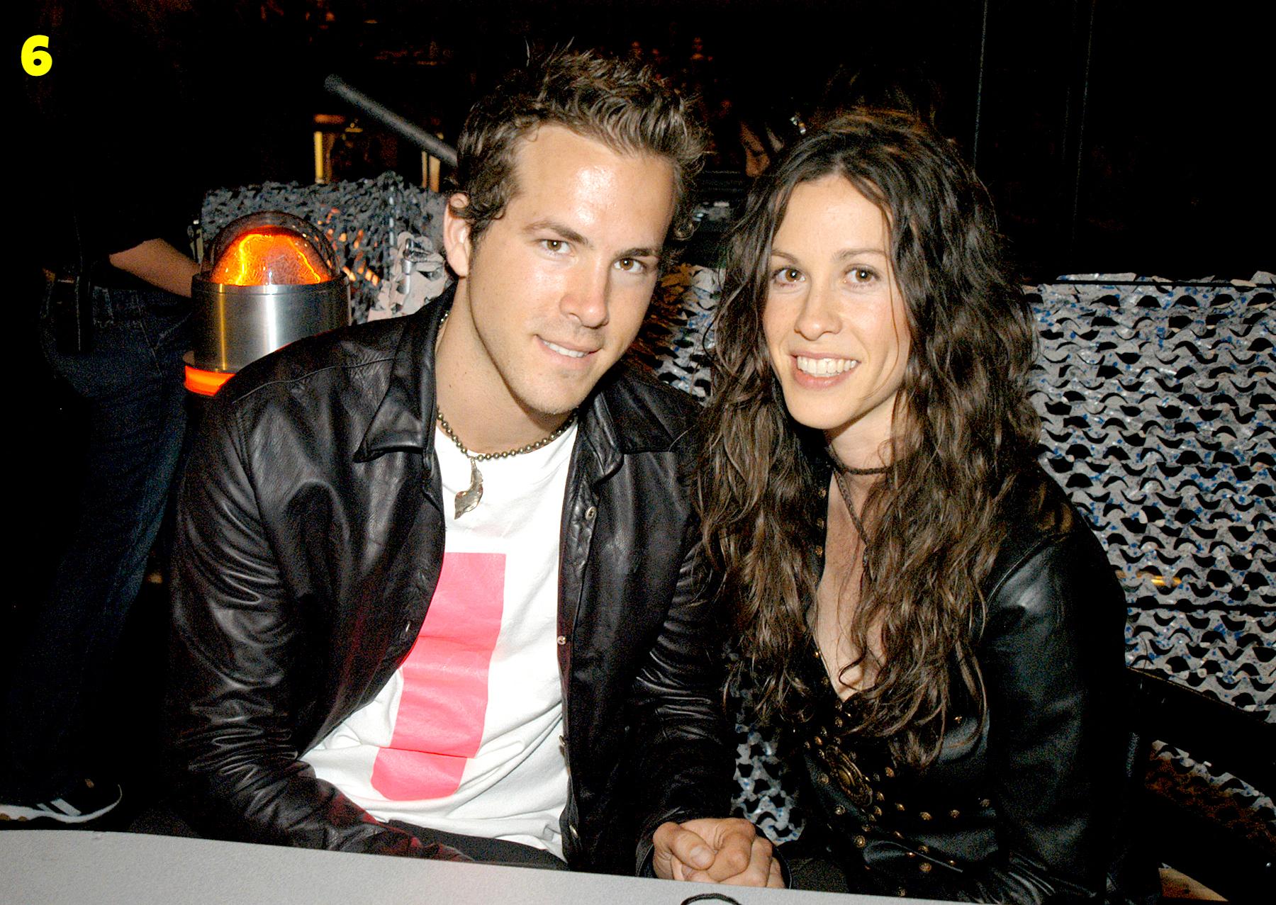 Ryan Reynolds And Alanis Morissette Dating