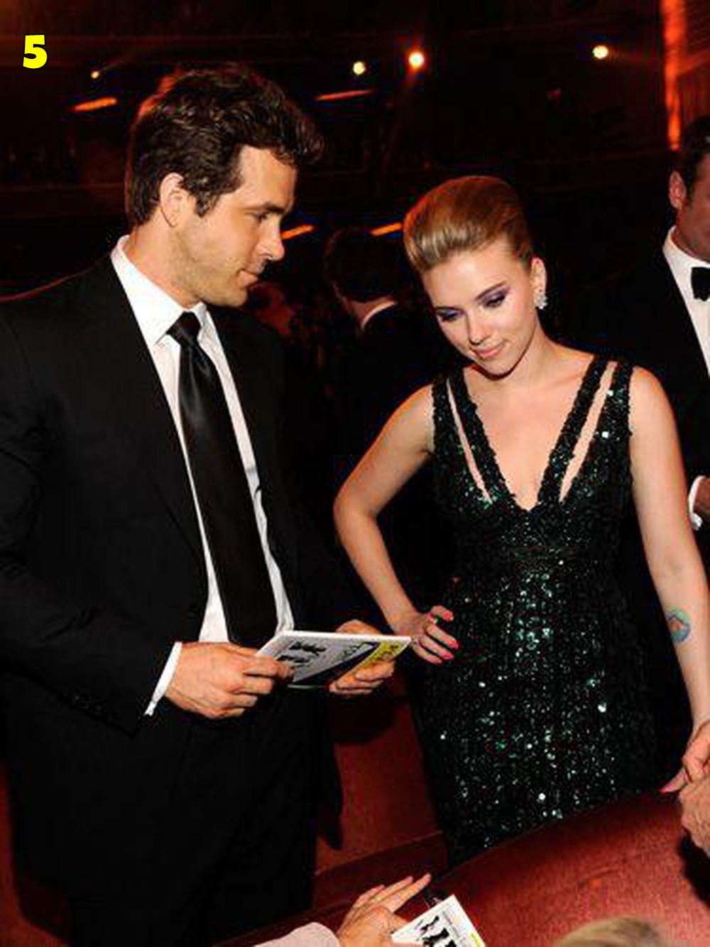 Ryan Reynolds And Scarlett Johansson Dating
