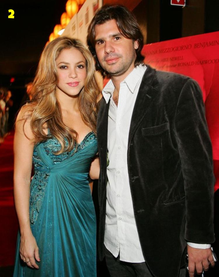 Shakira And Antonio De la Rua Dating