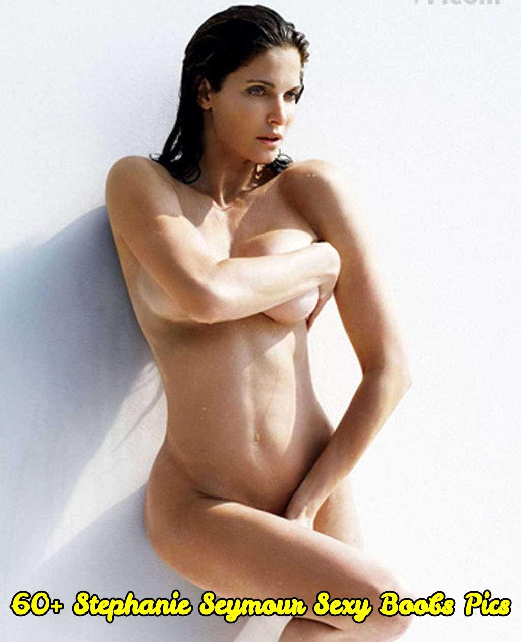 Stephanie Seymour sexy boobs pics