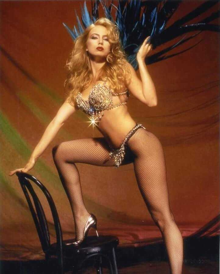 Traci Lords cleavage