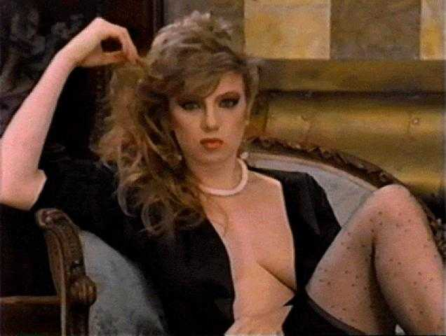 Traci Lords sexy cleavage