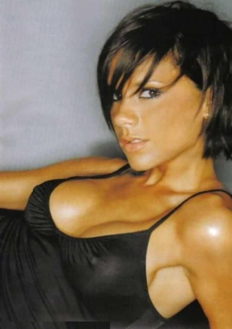 Victoria Beckham cleavage pic