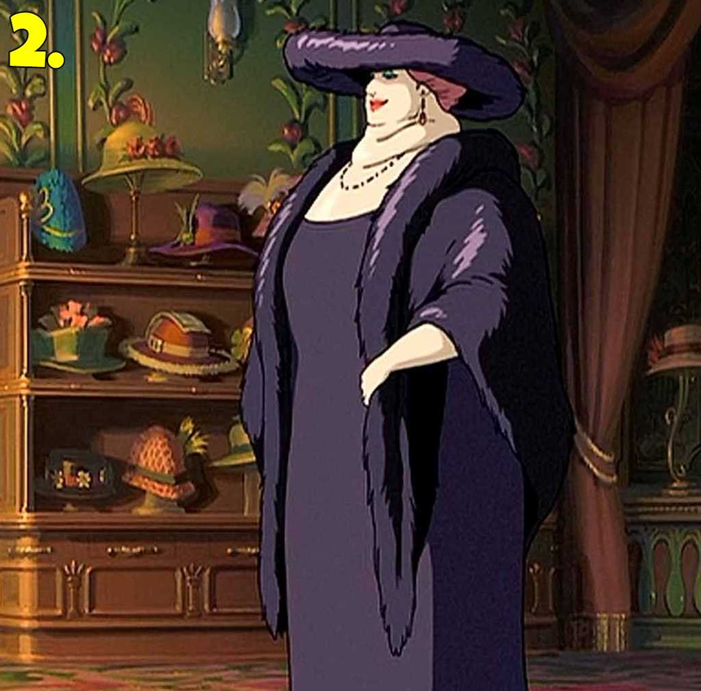 Witch of the Waste from Howl no Ugoku Shiro (Howl's Moving Castle)