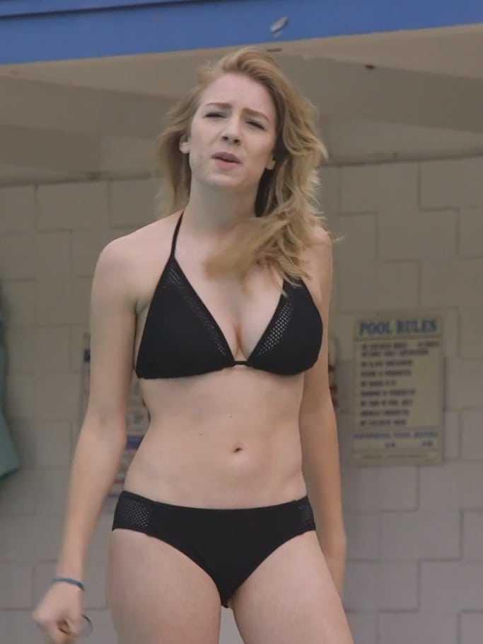 courtney miller black bikini