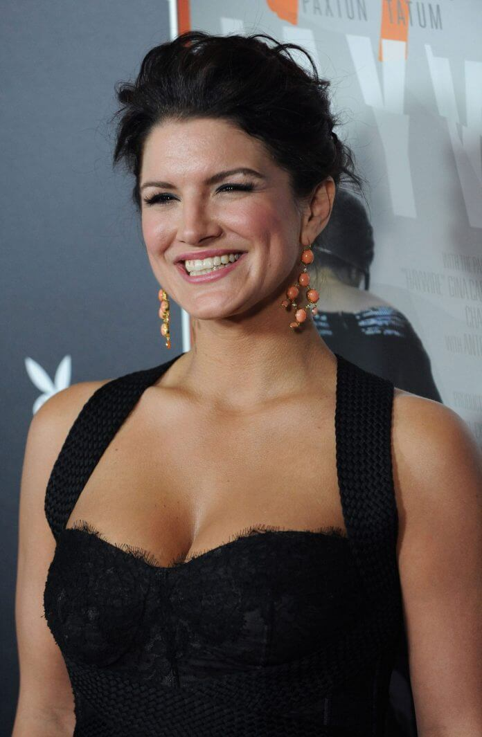gina carano boobs
