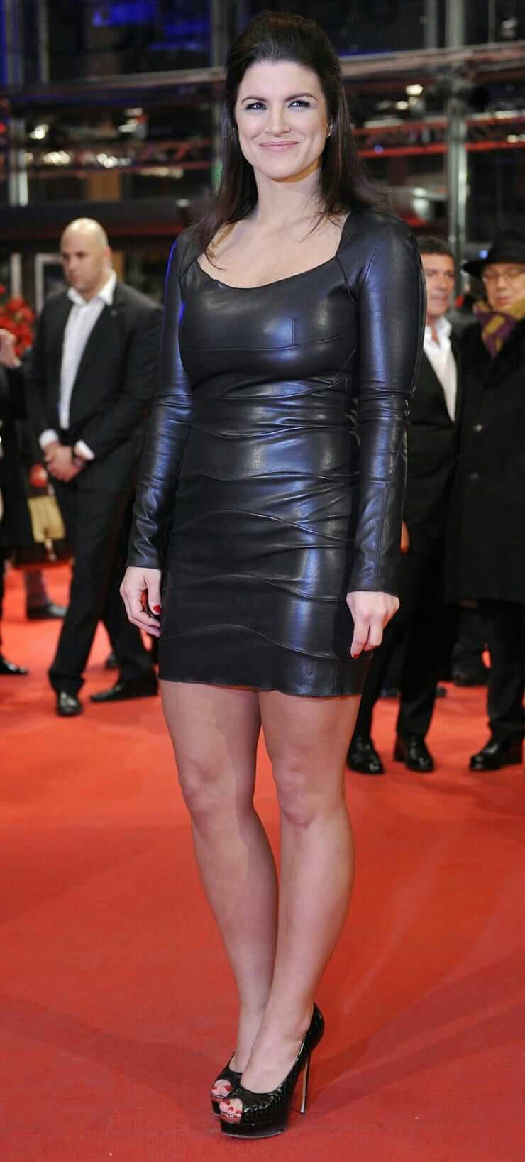 gina carano red carpet