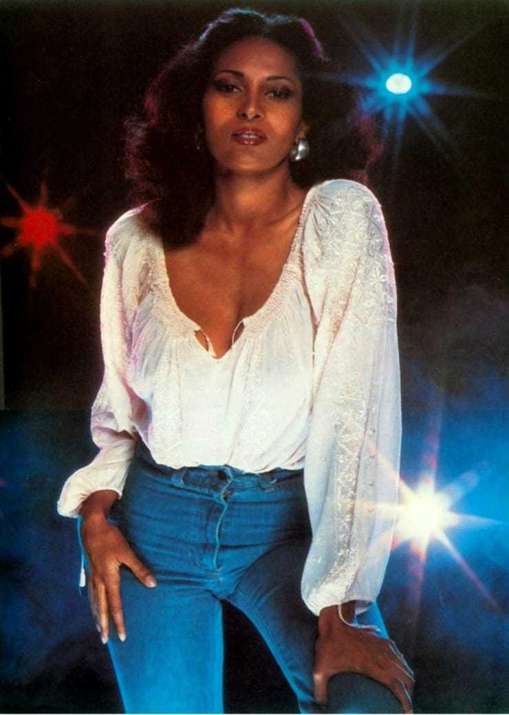 pam grier hot cleavage