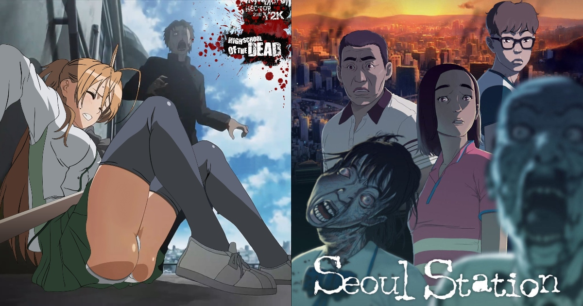 13 Best Zombie Anime That Have Extremely Good Plots