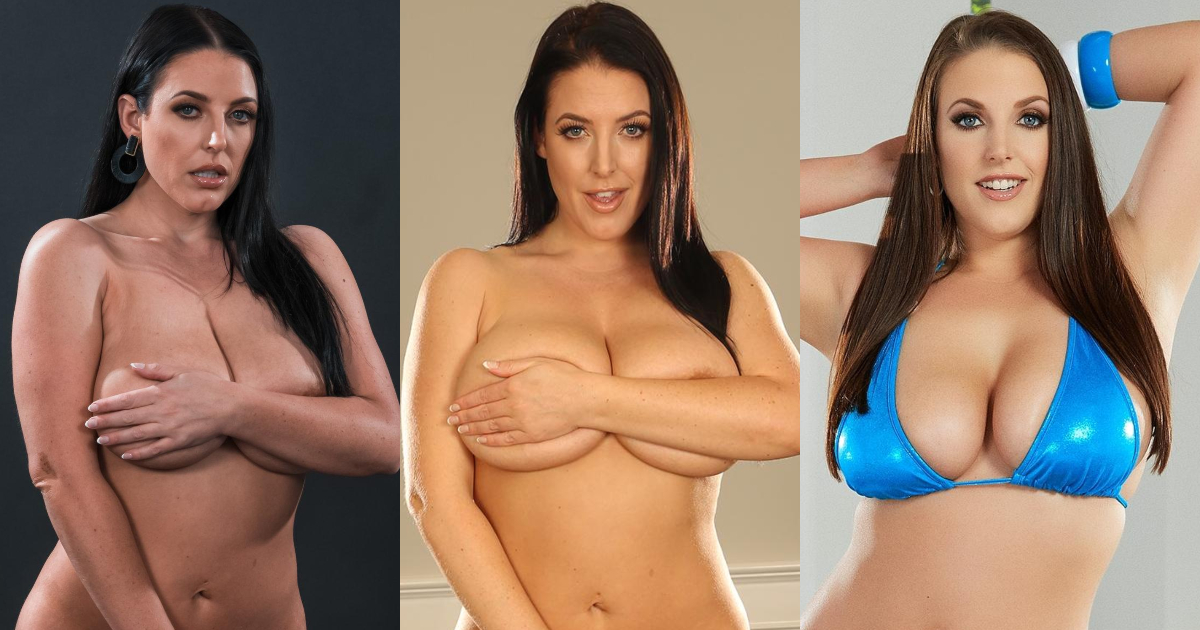 61 Hottest Angela White Boobs Pictures You Just Want To Nestle Between Them