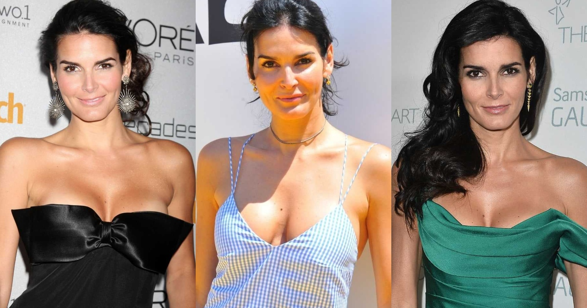 61 Hottest Angie Harmon Boobs Pictures Expose Her Perfect Cleavag