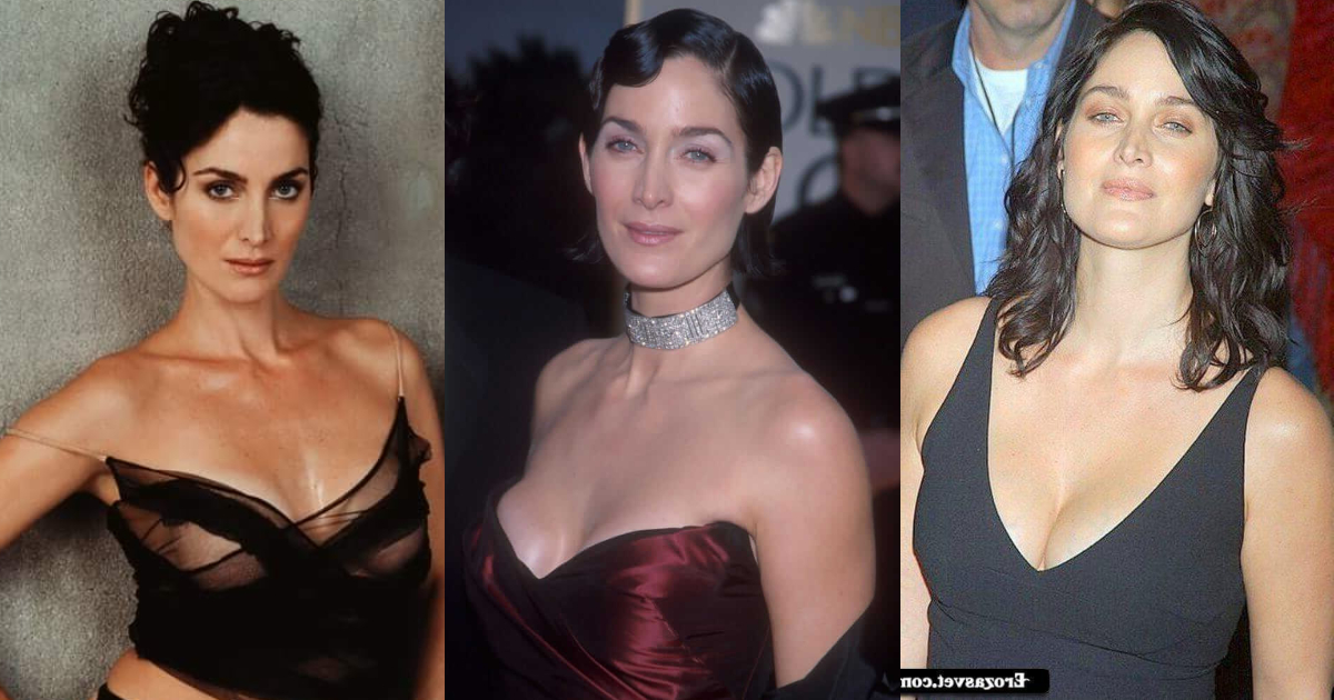 61 Hottest Carrie Anne Moss Boobs Pictures Are Jaw-Dropping And Quite The Looker