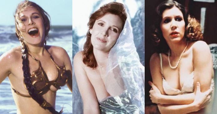 61 Hottest Carrie Fisher Boobs Pictures A Visual Treat To Make Your Day