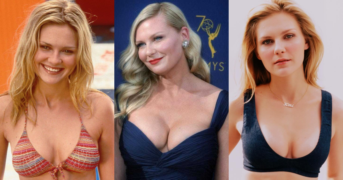 61 Hottest Kirsten Dunst Boobs Pictures Spectacularly Tantalizing Tits