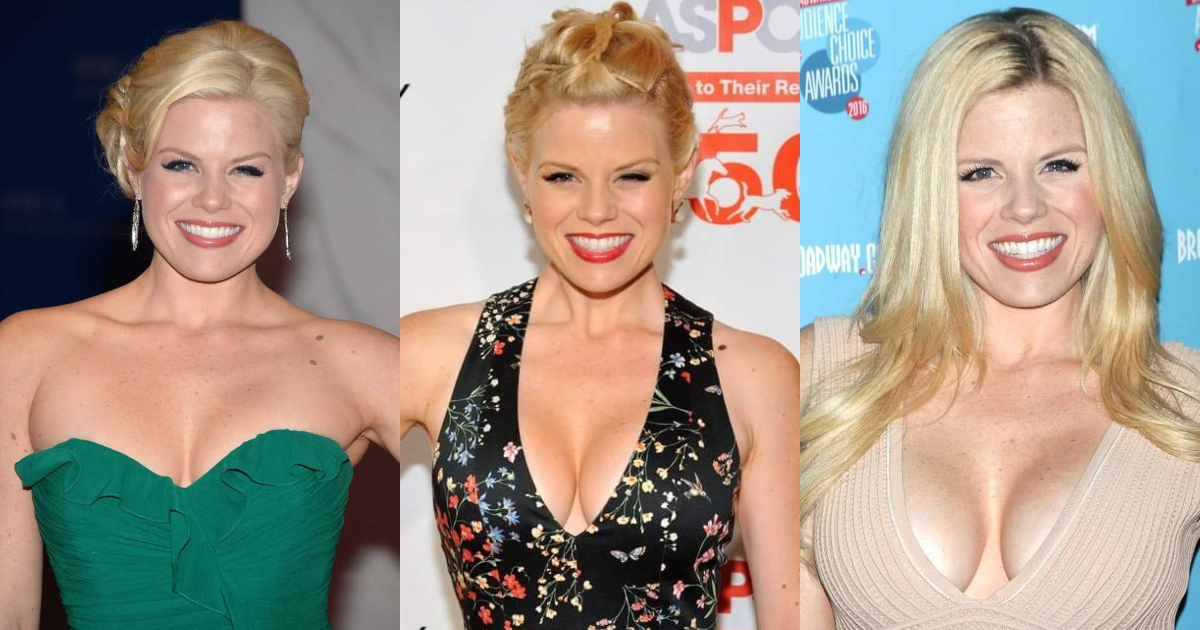 61 Hottest Megan Hilty Boobs Pictures Are Arousing And Appealing