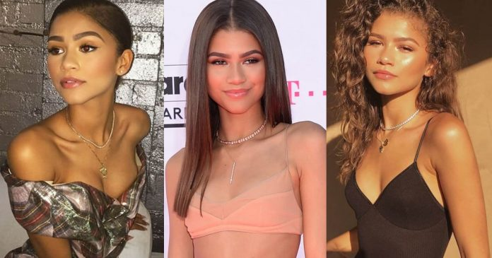 61 Hottest Zendaya Boobs Pictures Expose Her Perfect Cleavage