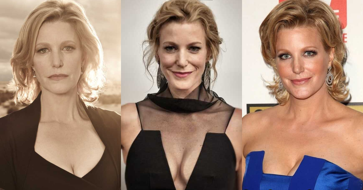 61 Sexiest Anna Gunn Boobs Pictures Will Make You Feel Thirsty For Her Melons