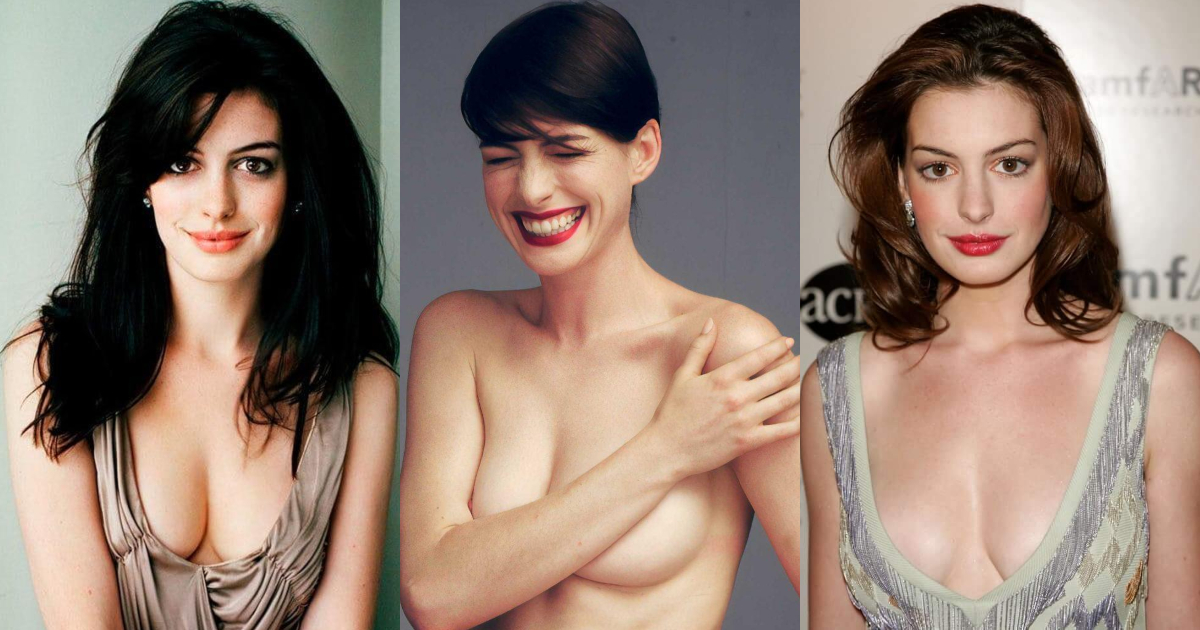 61 Sexiest Anne Hathaway Boobs Pictures Will Make You Feel Thirsty For Her Melons