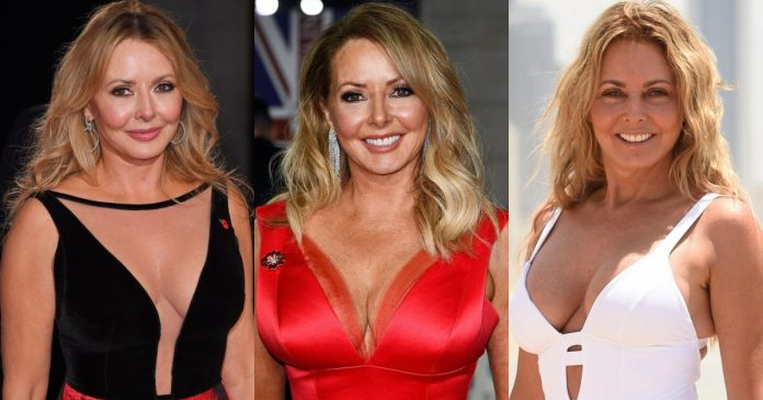 61 Sexiest Carol Vorderman Boobs Pictures Are A Feast For Your Eyes