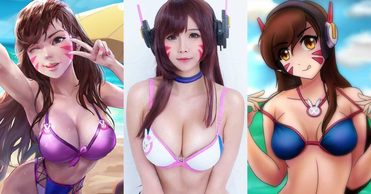 61 Sexiest D. Va Boobs Pictures Will Make You Envy The Photographer