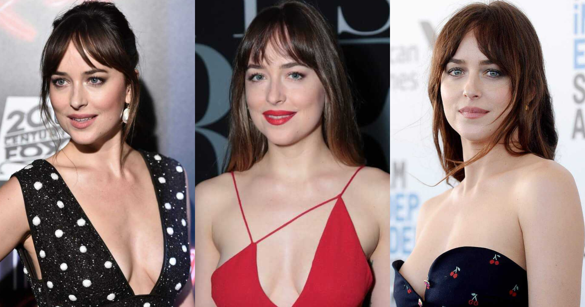 61 Sexiest Dakota Johnson Boobs Pictures Will Have You Staring At Them All Day Long